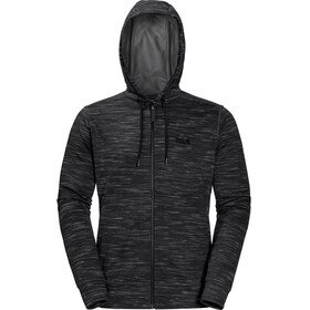 Jack Wolfskin Oceanside Hooded Jacket Men black